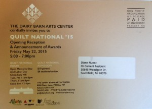 Quilt National 2015
